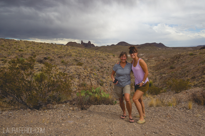 jude and laura at big bend np