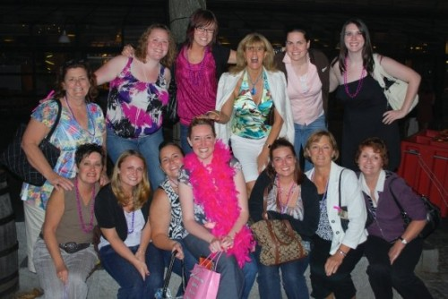 Meg's Bachelorette party