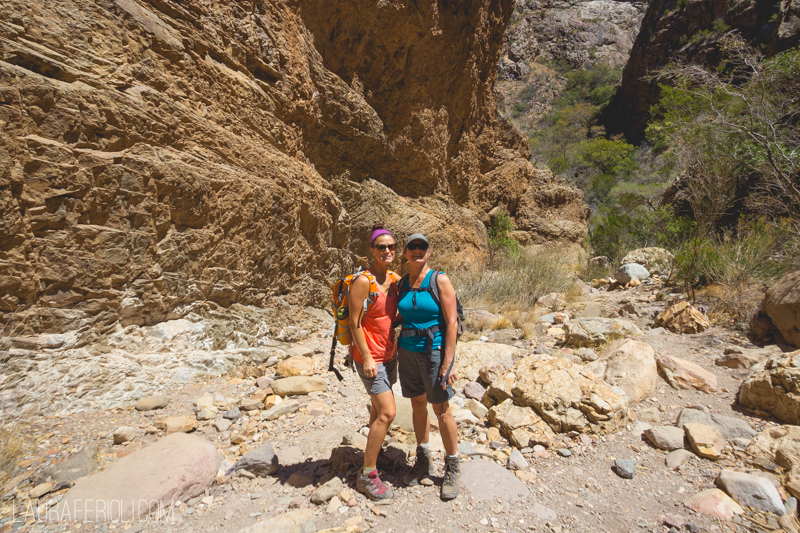 hiking at chisos